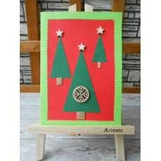 """Картичка """"Коледа 1"""""""